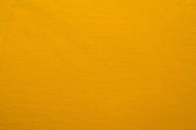 Bright Yellow Solid Cotton Fabric