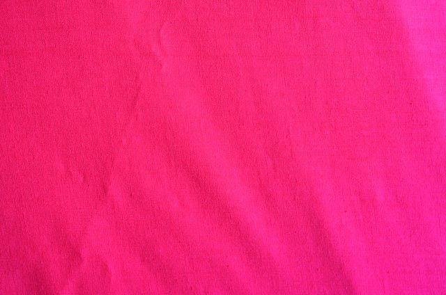 Dark Pink Solid Cotton Fabric