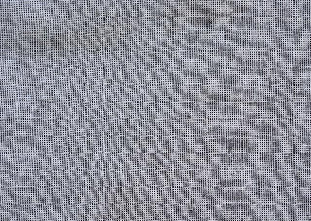 Grey Handwoven Cotton Fabric