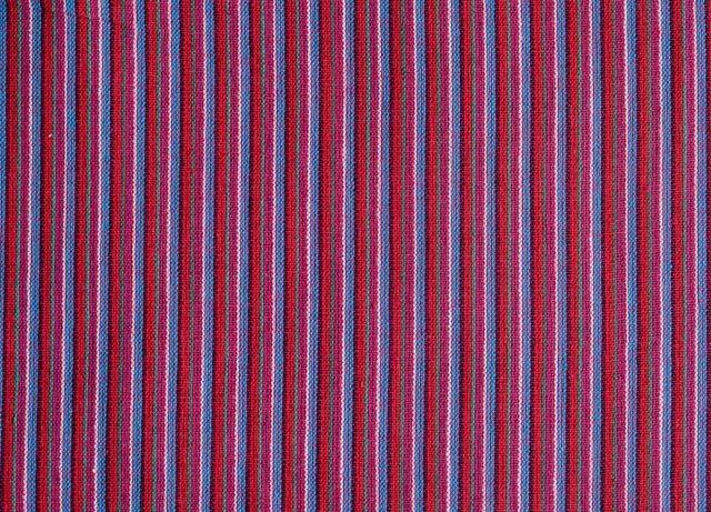Multicolor Stripes Handwoven Cotton Fabric