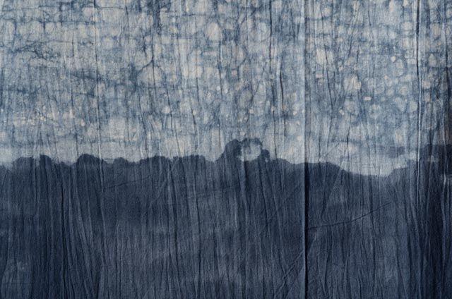 Grey Dip Dyed Fabric