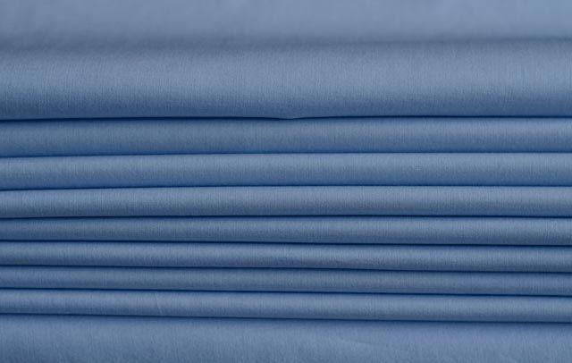 Blue Cotton Shirting Fabric