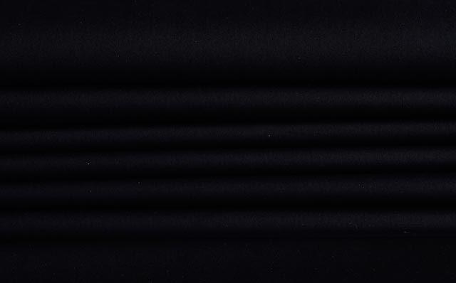 Pure Black Cotton Shirting Fabric