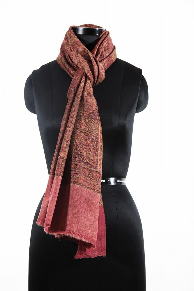 Antique Red Cheap Pashmina Scarves