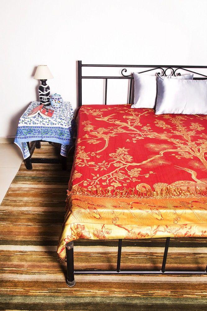 Beautiful Reversible Pure Silk Bedspreads