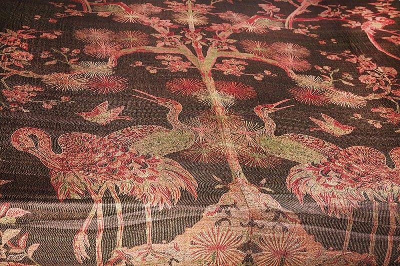 Beautiful Reversible Pure Silk Bedsheet