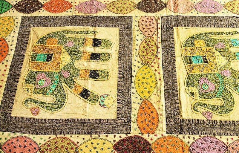 Embroidered Cotton Cal King Bedspreads