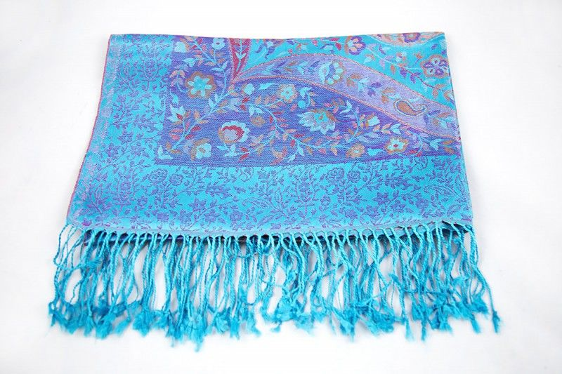 Blue Bay Silk Scarves For Women