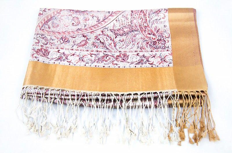 Walnut Shell Silk Scarves For Women