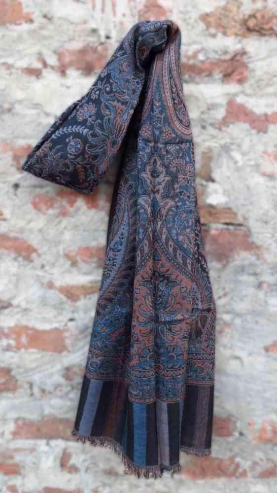 Beauty Blue Cheap Pashmina Scarves
