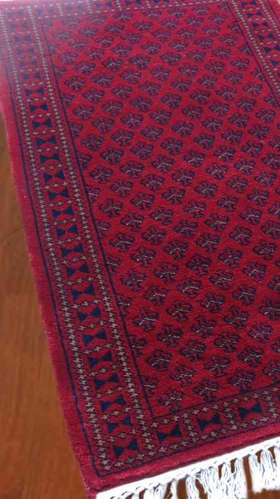 Beauty Red Handmade Rugs From India