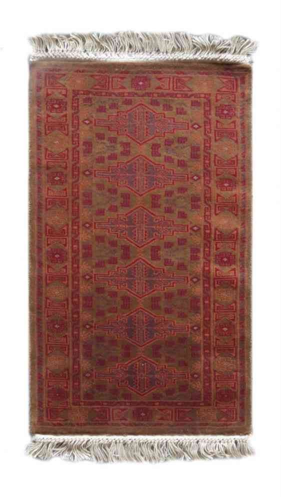 Camel Orange Hand Knotted Tribal Rugs