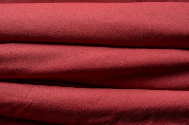 Dark Brown Solid Cotton Fabric