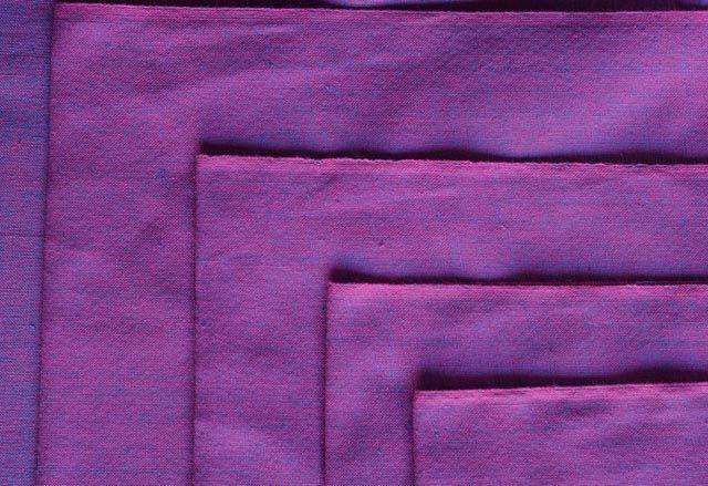 Pinkish Purple Handwoven Cotton Fabric
