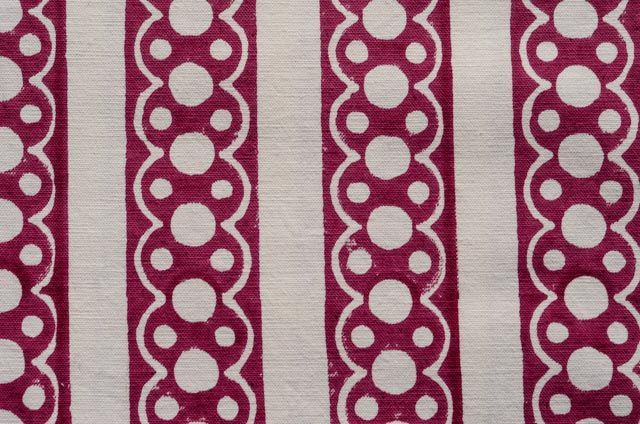 Maroon Designer Cotton Upholstery Fabric