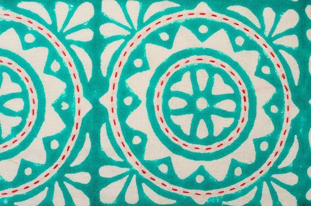 Hand Block Print Kantha Cushions