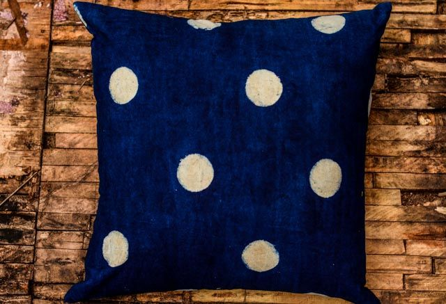 Indigo Block Print Pillows