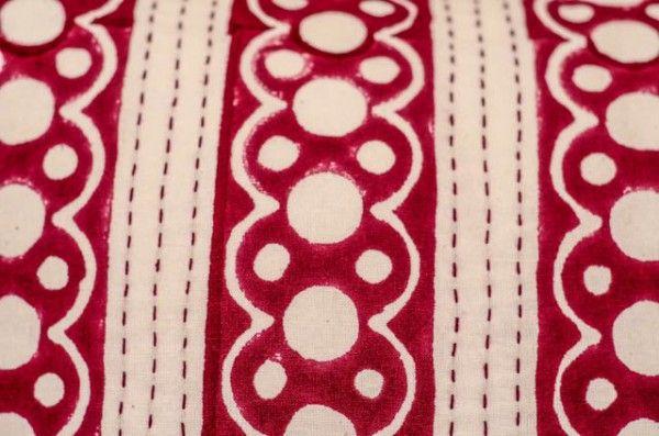 Hand Block Print Kantha Pillows Online