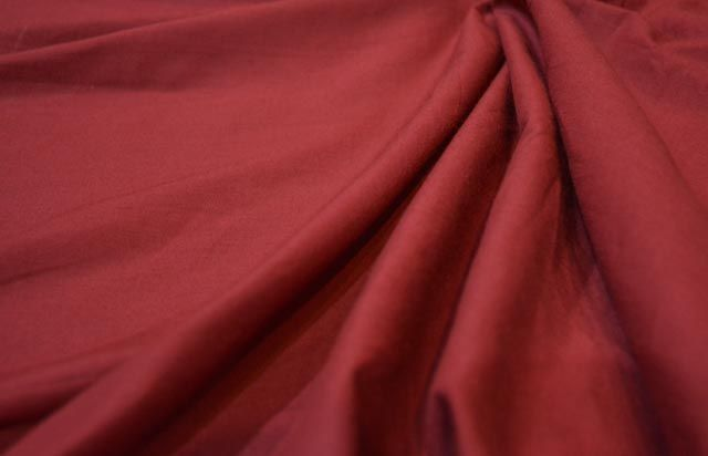 Maroon Solid Cotton Fabric