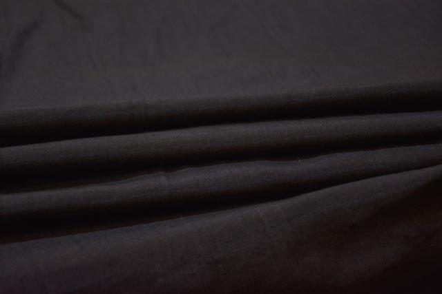 Black Pure Silk Fabric By The Yard