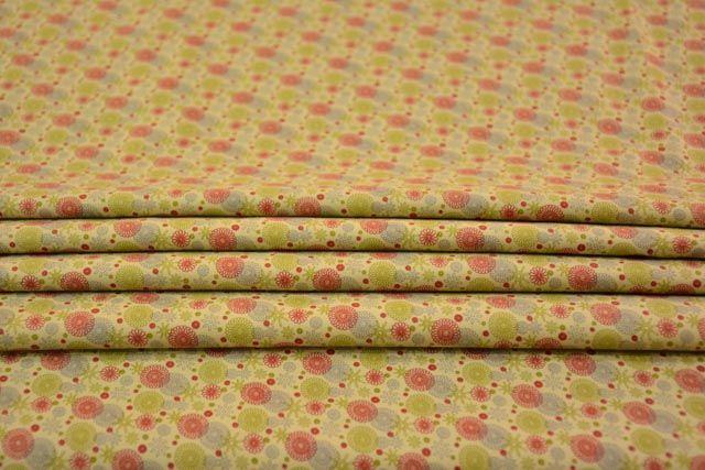 Multicolor Digital Print Satin Cotton Fabric