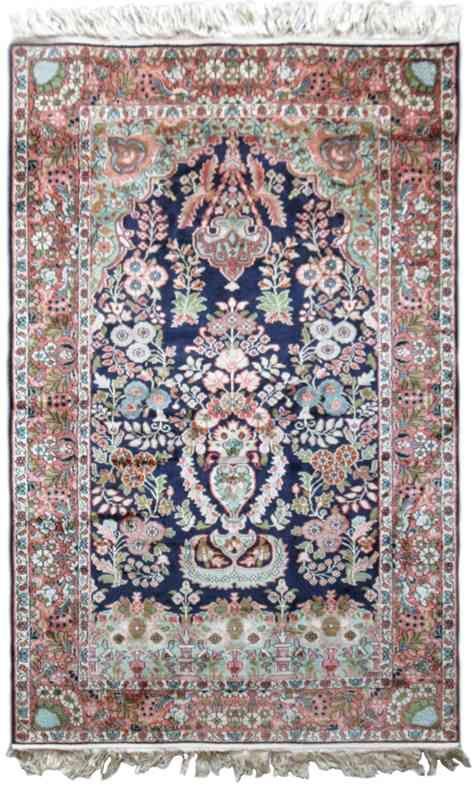 Garden Of Kashmir Pure Silk Area Rug