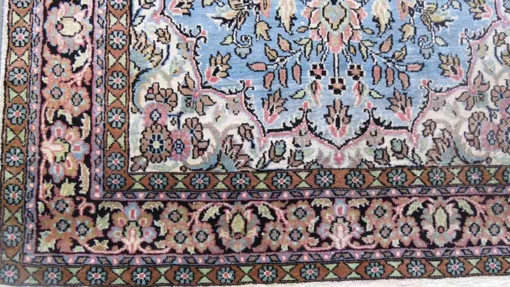 Garden Of Kashmir Pure Silk Carpet