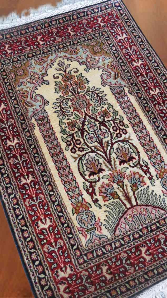 Garden Of Kashmir Pure Silk Rug