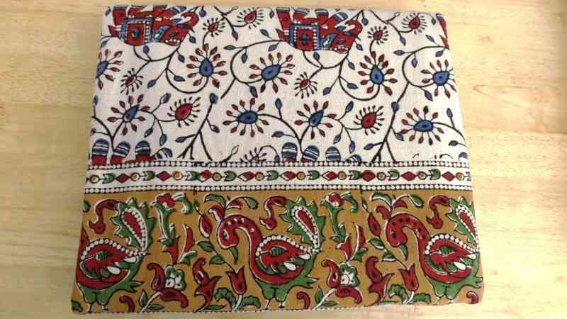 Hand Block Print Patterned Bed Sheets