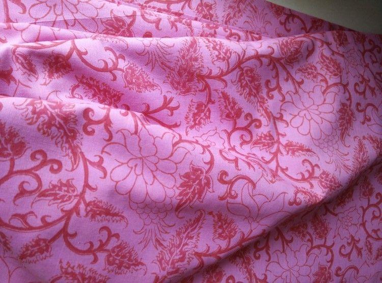 Hand Block Print Cotton Running Fabric