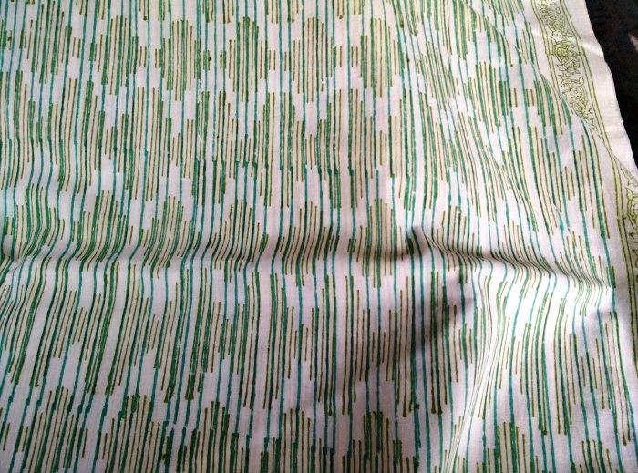 Green Lines Indian Block Printing Designs