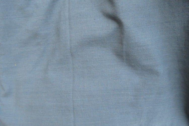 Plain Grey Handwoven Indian Cotton Fabric