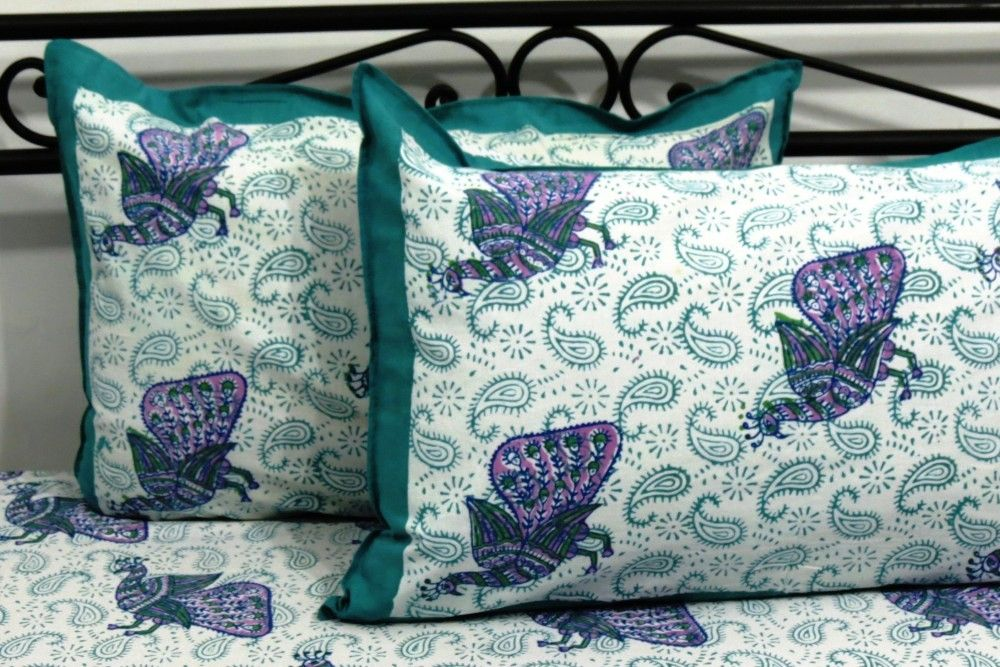 Hand Print Wholesale Bed Sheets