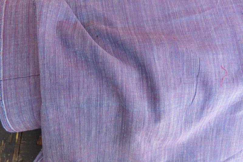 French Rose Handwoven Cotton Fabric