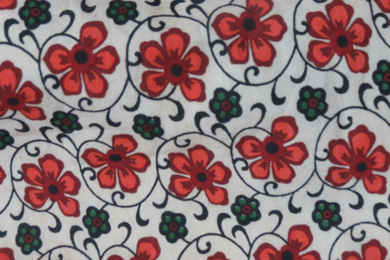 Red Floral Printed Palazzo Pants