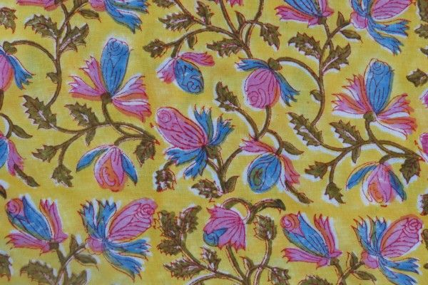 Floral 100 Rayon Fabric By The Yard