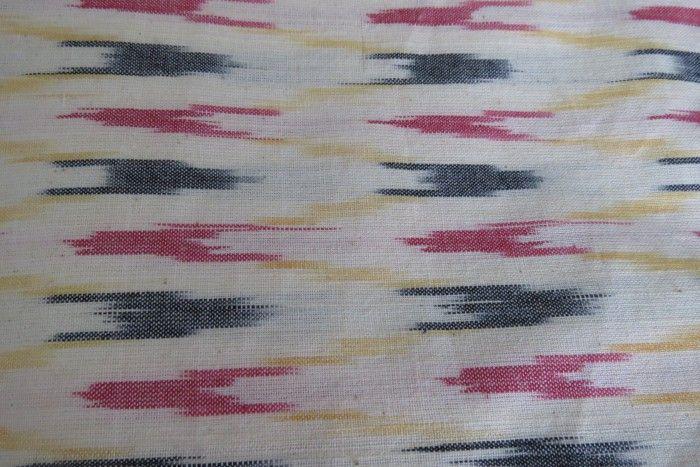 Multi Color Ikat Print Fabric