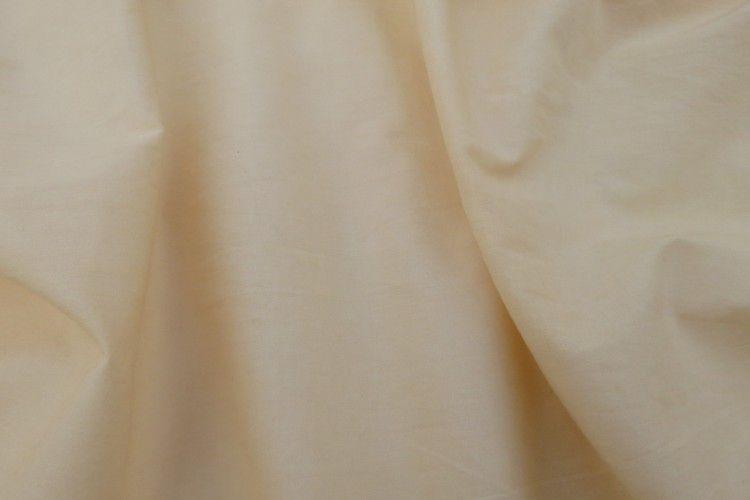 Cream Mulmul Cotton Fabric By The Yard