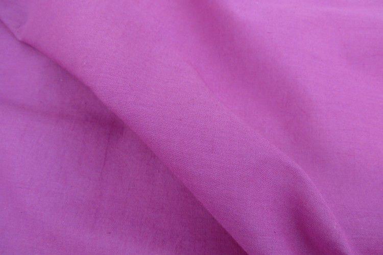 Purple Mulmul Cotton Fabric By The Yard