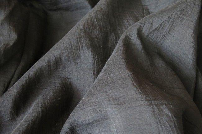 Black Cotton Silk Fabric By The Yard