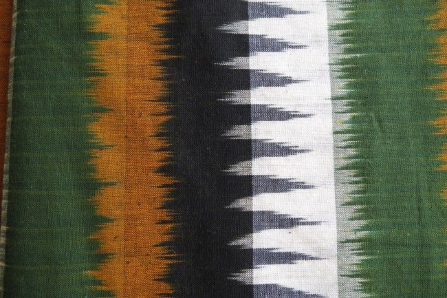 Colorful 3d Ikat Fabric By The Yard
