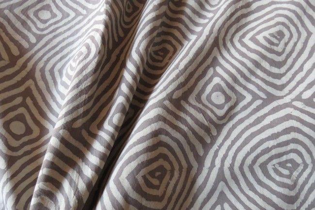 Kashish Designer Block Print Indian Cotton Fabric