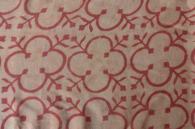 Designer Pure Silk Fabric By The Yard