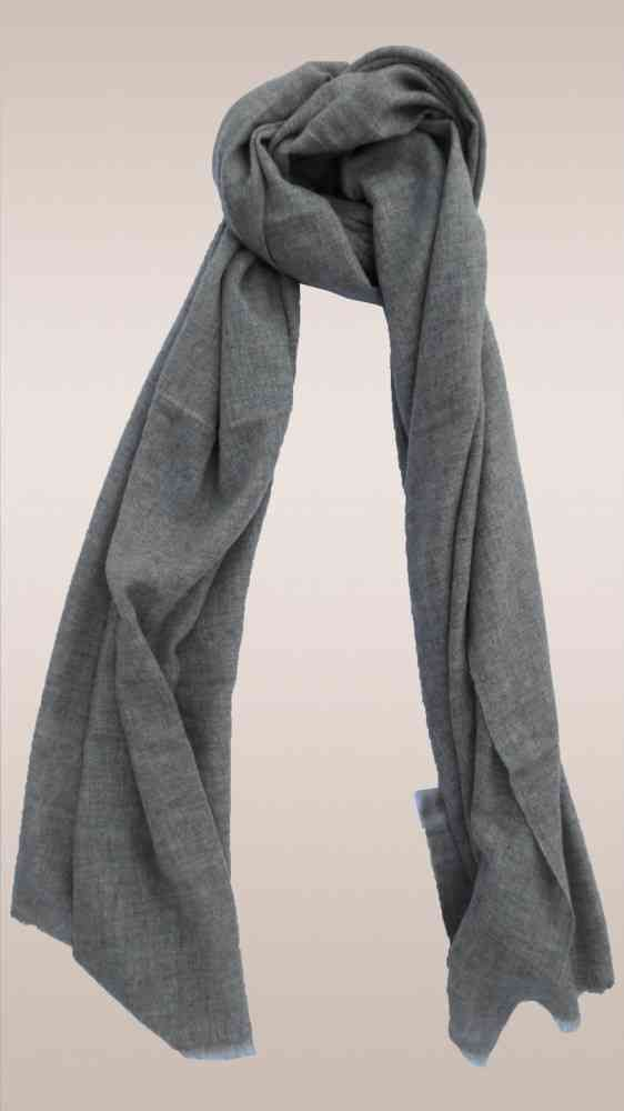 Just Brown Cashmere Wool Scarf
