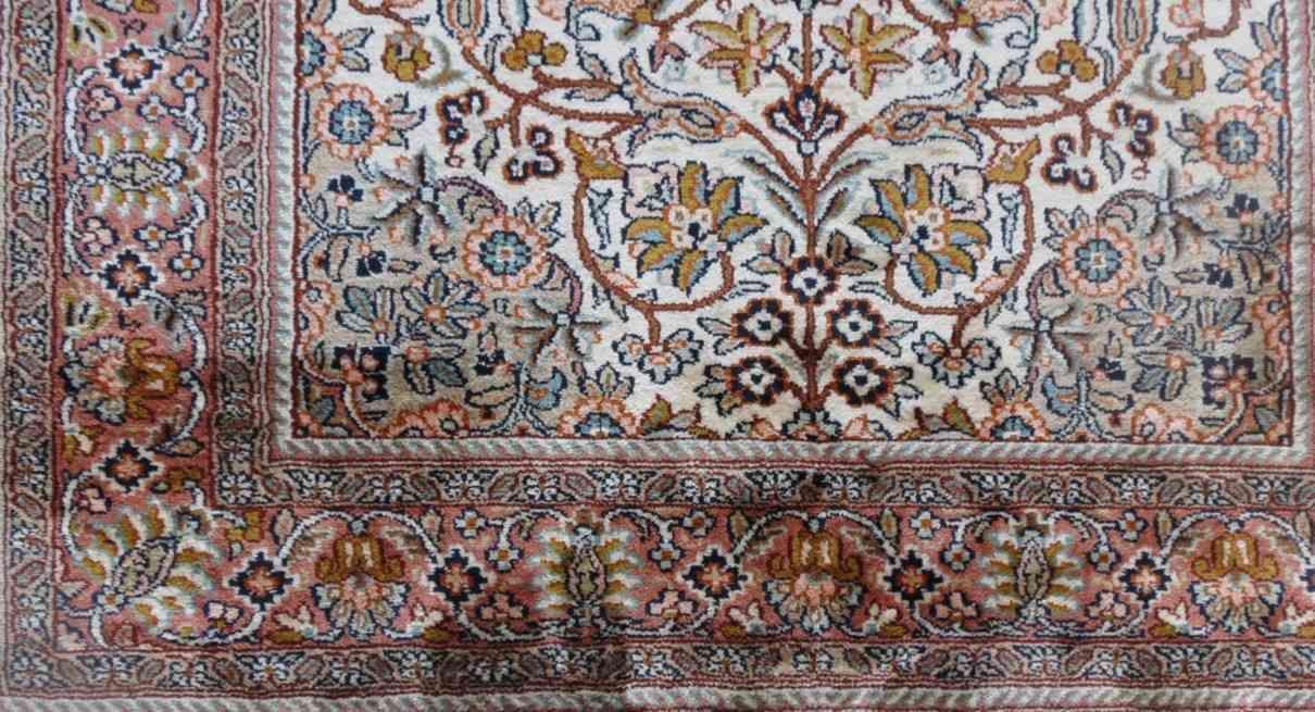 Kashmir Design Persian Silk Rugs