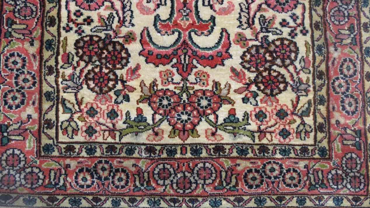 Kashmir Pure Silk Indian Rug
