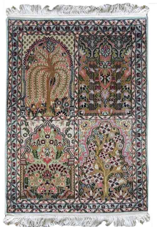 Kashmir Silk Hamadan Rug