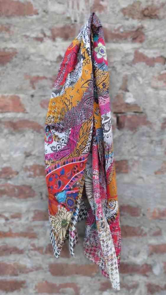 Multicolor Floral Fashion Scarves For Women