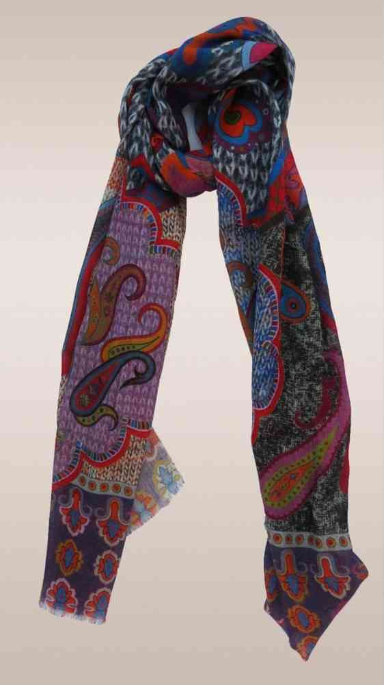Multicolor Paisley Fashion Scarves For Women