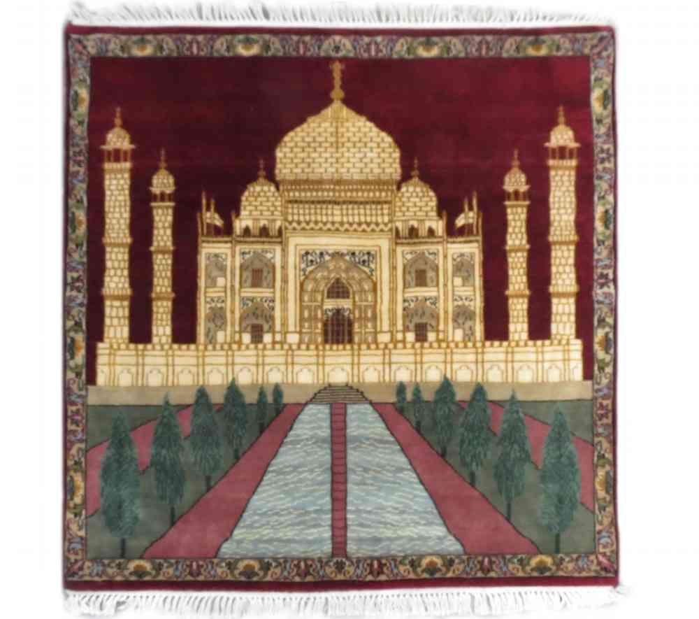 Tajmahal Design Wall Carpet